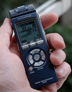 Olympus DS50 audio recorder